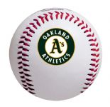 Oakland A's Rawlings Baseball, in a Presentation Clamshell